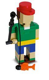FREE LEGO Fisherman Mini Model free-stuff-unlimited.com