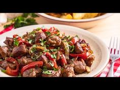 Cooking Recipes, Healthy Recipes, Healthy Food, Kung Pao Chicken, Ethnic Recipes, Facebook, Youtube, Pork, Healthy Foods