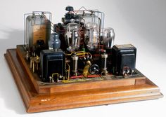 1927 Raleigh Mullard Tube Amp
