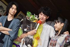 "Kento Yamazaki x Tao Tsuchiya, BTS, J Drama ""Mare"", Aug/18/'15 http://www.drama.net/mare [Eng. sub]"