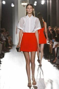 Victoria Beckham Ready To Wear Spring Summer 2013 New York - NOWFASHION