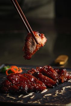 Pork Recipes, Asian Recipes, Diet Recipes, Chinese Food Restaurant, Char Siu, Saveur, Food Photography, Food Porn, Good Food