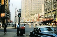 Manhattan: 7th Avenue and 49th Street (1956) -photographer unknown