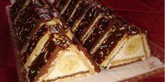 Fotorecept: Trojuholníky z Be-be keksov No Bake Cookies, No Bake Cake, Grape Jelly Meatballs, Torte Recepti, Grape Recipes, Cake Bars, Party Desserts, Mini Cakes, Cakes And More