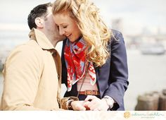 Engaged. Alison Conklin Photography. Nautical.