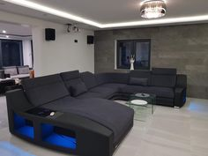We have delivered the Yasin brain product now with goodbye Custom Size Corner Sofa … Corner Sofa Design, Living Room Sofa Design, Lounge Design, Living Room Colors, Living Room Grey, Home Living Room, Living Room Designs, Home Theater Room Design, Home Interior Design