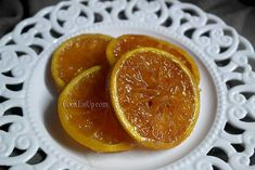 karamelomenes fetes portokaliou Grapefruit, Desserts, Food, Tailgate Desserts, Deserts, Essen, Postres, Meals, Dessert