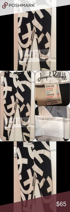 NWT Joseph Ribkoff Leggings Joseph Ribkoff Leggings- 95% polyester 5% spandex. Color Black & Off White Joseph Ribkoff Pants Leggings