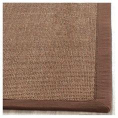 Klara Natural Fiber Accent Rug - Brown (3' X 5') - Safavieh, Dark Brown, Durable