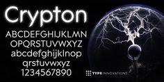 Crypton - Webfont & Desktop font « MyFonts