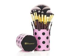 11-teiliges 'Pink-A-Dot' Pinsel-Set 26 Euro
