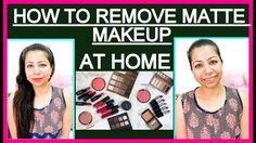 How to Remove Makeup Properly | How To Make Makeup Remover & Makeup Matt...