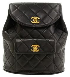 26eacad9948766 Chanel Quilted Lambskin Backpack Chanel Bags, High End Fashion, Leather  Backpack, Chanel Handbags