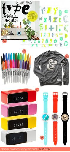 Creature Comforts holiday gift guide: for teens