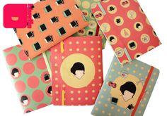 Cadernos da série Amabilité inspirados no filme O Fabuloso Destino de Amelie Poulain, com ilustrações de Arthur Reis e Letícia Naves. Para comprar acesse: http://loja.meulibretto.com/serie-amabilite-ct-4c4a7