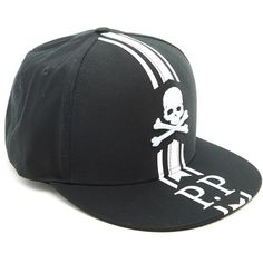 58ce750cb0c PHILIPP PLEIN Logo Snap Back (780 RON) ❤ liked on Polyvore featuring men s  fashion