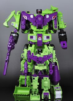 Transformers Unite Warriors Devastator and G1 Devastator