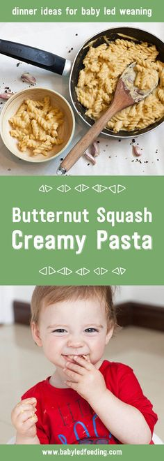 A deliciously creamy pasta sauce that vegan, easy to make and a baby friendly family meal. Perfect dinner recipe for baby led weaning.