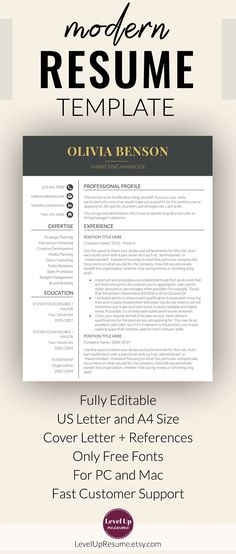 Resume Cover Letter Template 2018 Minimal Resume  Cover Letter For 2018 #photoshopresume