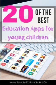 These apps are some of the best education apps available for young children to learn. These are great apps to use during summer months or breaks in school. kids activities, kids education