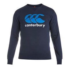 Canterbury Classic Crew Sweat Navy - Front 2