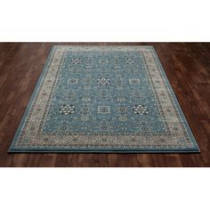 Art Carpet Kensington Aqua Area Rug Rug Size: