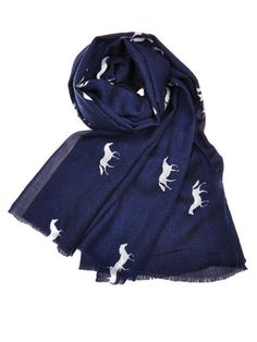 Equestrian-Inspired Pieces- Julie Vos scarf