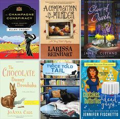 Cozy Bookshelf Shopping List for November 2016 by Criminal Element, cozy mystery & humorous mystery new releases
