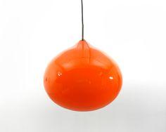 Gino Vistosi_Onion_orange_large_pendant_light_glass_4
