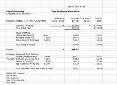 nanny payroll tax calculator