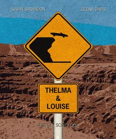 Thelma & Louise Minimalist Movie Poster Print, Ridley Scott Movie, Print Art Poster, Home Decor Thelma Louise, Thelma And Louise Movie, Minimal Movie Posters, Minimal Poster, Film Posters, Auto Poster, Poster Cars, Movie Prints, Poster Prints