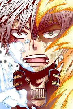 What a great art // Boku no Hero Academia - Todoroki Shouto