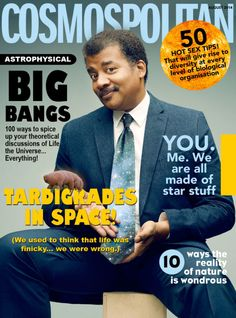 Raise Your Hand If You Would Subscribe to Cosmos-politan