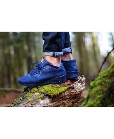 online retailer 218df f1070 Nike Air Max 90 Hyperfuse Dark Blue Trainer Now many young people like this  product,