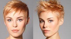 Wenn Rot auf blond trifft, ergibt das eine wunderschöne süße Haarfarbe, 'Erdbeerblond'! Eine süße Farbe zum Anbeißen. Möchtest Du mal wissen, wie die Farbe an einer Kurzhaarfrisur aussieht? Schau Dir schnell die nächsten 'Strawberry blond' Kurzhaarfrisuren an. Lass Dich von dieser tollen Farbe verführen.