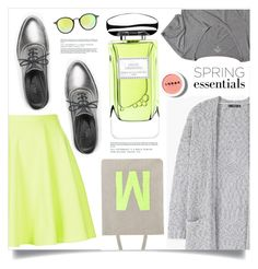 """Neon Spring"" by marina-volaric ❤ liked on Polyvore featuring beauty, Topshop, MANGO, Max&Co., Hollister Co., Ray-Ban, LORAC, Monsoon, By Terry and springperfume"