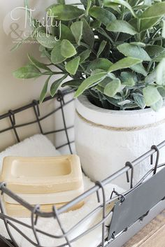 This is the best place to buy faux greenery for your home! Using faux plants in your home. Home decor and decorating ideas. : This is the best place to buy faux greenery for your home! Using faux plants in your home. Home decor and decorating ideas. Ladder Shelf Decor, Kitchen Shelf Decor, Wall Shelf Decor, Wall Shelves, Shelving, Faux Grass, Greenery Decor, Large Glass Jars, Floating Shelves Bathroom