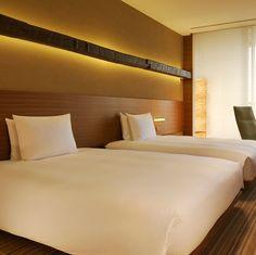 Twin Bedroom Hyatt Regency Tokyo vossy.com