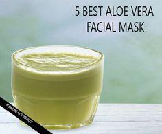 5 Best Aloe Vera hydrating face mask