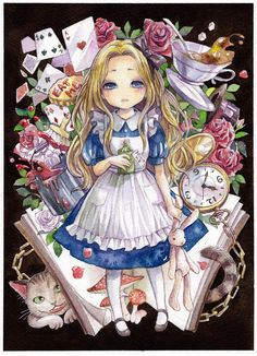 Tags: Alice in Wonderland, Cheshire Cat, Pixiv, Alice (Alice in Wonderland) Lewis Carroll, Adventures In Wonderland, Alice In Wonderland, Me Anime, Anime Art, Manga Comics, Alice Liddell, We All Mad Here, Chesire Cat