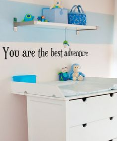 cute quote for baby's room