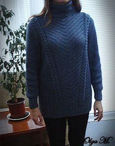 Уютный свитер для зимних холодов