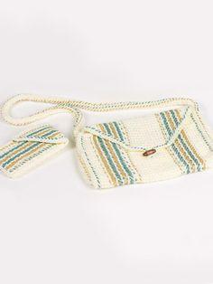 Crochet Accessories - Crochet Purse Patterns - Free Twist-Stitch Eyeglass Case and Crochet Handbag Pattern