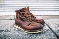 Red Wing Heritage 1907 Copper Rough & Tough 6 Inch Moc Toe Leather Boots