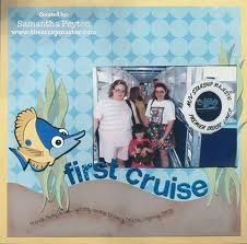cruise scrapbook layouts ideas - Google Search