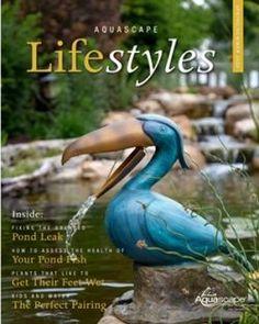 Free Digital Aquascape Lifestyles Magazine Water Plants, Water Garden, Gardening Magazines, Garden Maintenance, Garden Signs, Stunning Photography, Aquatic Plants, Outdoor Settings, Beautiful Places To Visit