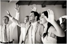 praise and worship at wedding www.charmainespangenberg.com