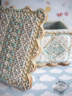 caja de galleta decorada con glaSA
