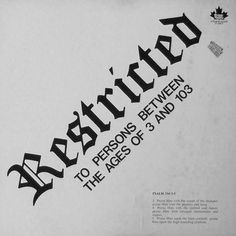 Maesal Murray Tremblay* – Restricted Label: Not On Label – none Format: Vinyl, LP, Album Country: Canada Released: 1976 Genre: Folk, World, & Country Label: Not On Label – none Format: Vinyl, LP, Album Country: Canada Released: 1976 Genre: Folk, World, & Country Psalm 150, Psalms, Life Of Christ, Lp Album, Folk, Label, Canada, Country, Popular