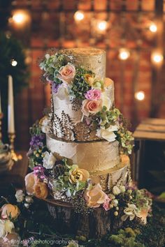Here at STL, we LOVE our Enchanted Forest Cake! www.crystalstokesphotogaphy.com